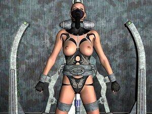 3D-Animasjon: Invasjon, Sci-fi, 3D animasjon fra Gal XXX 3D-Verden!