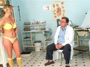 Eldre Vanda gyno fitte spekulum checkup på gyno klinikk